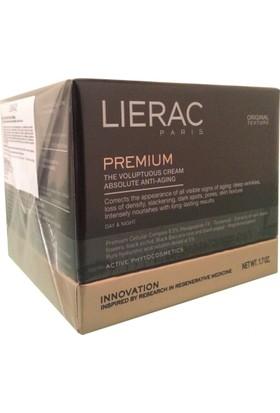 Lierac Premium Voluptuous Cream 50Ml - Kuru Ciltler İçin Global Yaşlanma Karşıtı Gündüz Ve Gece Kremi