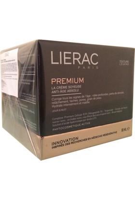 Lierac Premium Silky Cream 50Ml - Normal Ve Karma Ciltler İçin Global Yaşlanma Karşıtı Gündüz Ve Gece Kremi