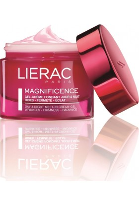 Lierac Magnificence Day Night Melt In Cream Gel 50Ml - Normal Ve Karma Ciltler İçin Kırışıklık Görünümü, Esneklik Ve Işıltı Kaybına Karşı Etkili Krem