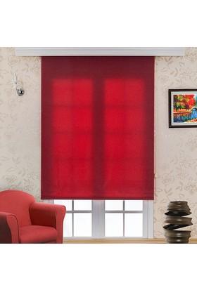 Homeyram Ekonomik Stor Perde - Kırmızı 60x200 cm