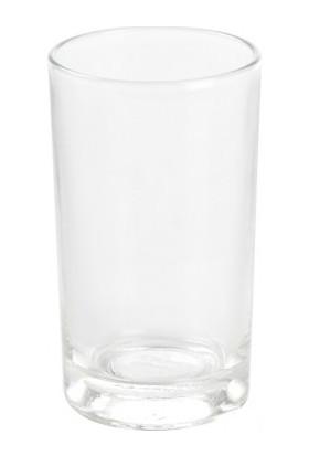 6'lı Beyaz Sarmaşık Kahve Yanı Cam Bardak