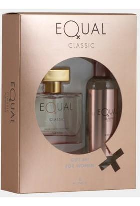 Equal Bayan Edt 75 Ml+Body Mist Set Bayan Parfüm