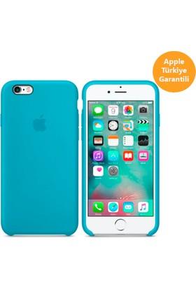 Apple iPhone6Plus / 6sPlus için Silikon Kılıf - Deniz Mavisi - MKXP2ZA/A (Apple Türkiye Garantili)
