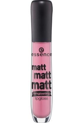 Essence Matt Matt Matt Longlasting Lipgloss 01
