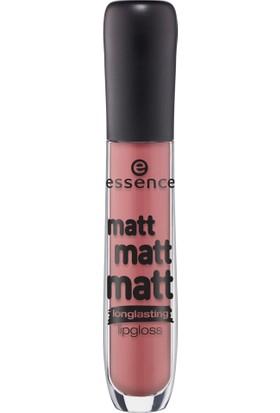 Essence Matt Matt Matt Longlasting Lipgloss 02