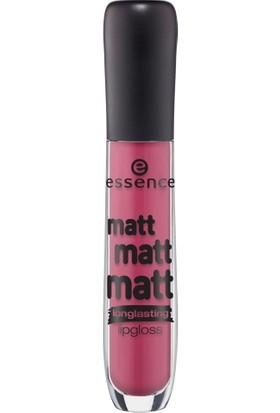 Essence Matt Matt Matt Longlasting Lipgloss 03