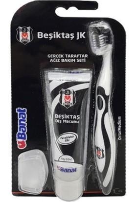 Banat Taraftar Yetişkin Ağız Bakım Seti (Beşiktaş)