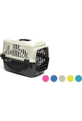 Flip Kedi Köpek Taşıma Kafesi Renkli