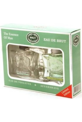 Brut Edt 100 ML Erkek Parfüm + Tıraş Sonrası Set