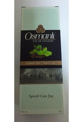 Osmanlı Kolonya Yeşil Çay Cam 100Ml