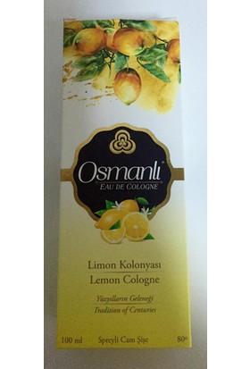 Osmanlı Kolonya Limon Cam 100Ml