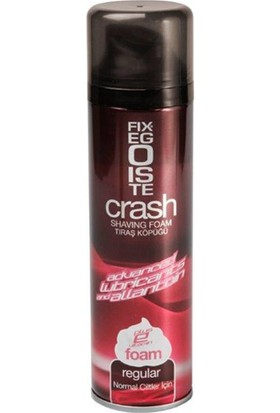 Fixegoıste Crash Traş Köpüğü Regular 200Ml