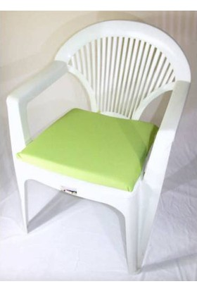 Deran Home 2Li Düz Yeşil Sandalye Minderi 252