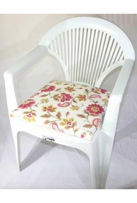 Deran Home 2Li Sandalye Minderi Klasik Çiçek 260
