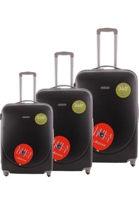 Laguna 2022 Siyah Valiz Bavul Seti