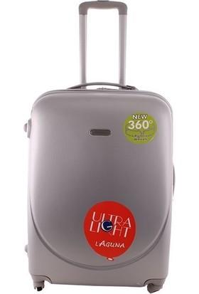 Laguna 2022-0 Gri Küçük Valiz Bavul