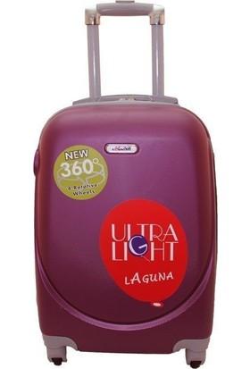 Laguna 2022-0 Pvc Bordo Kabin Boy Valiz Bavul