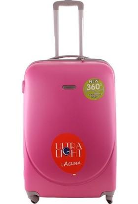 Laguna 2022-2 Fuşya Büyük Boy Valiz Bavul