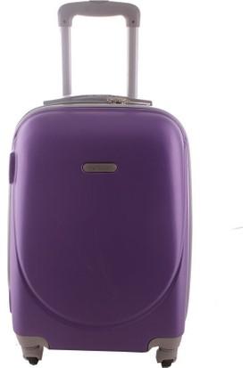 Laguna 2022-2 Pvc Mor Büyük Boy Valiz Bavul