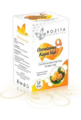 Rozita Kozmetik Ozonlanmış Kayısı Yağı