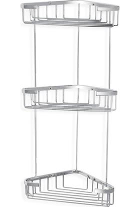 Çelik Banyo Efe Uclu Kose Süngerlik 18X18 Cm
