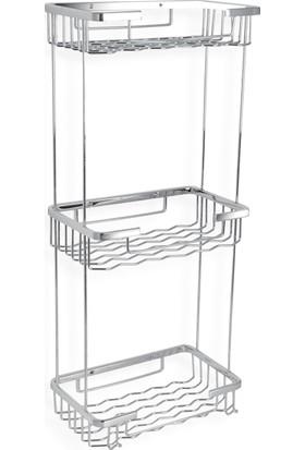 Çelik Banyo Zıkzak Uclu Süngerlik 23*15 Cm