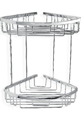 Çelik Banyo Zerrın İkili Oval Süngerlik 18*18