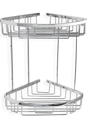 Çelik Banyo Zerrın İkili Oval Süngerlik 18*18Cm Ozel Lama