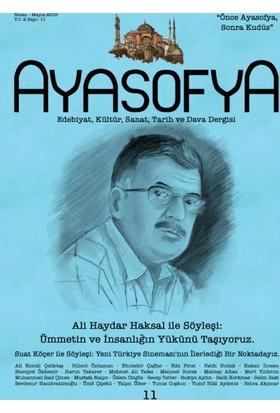 Ayasofya Dergisi Sayı 11 (Ali Haydar Aksal İle Söyleşi)