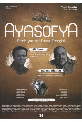 Ayasofya Dergisi Sayı 15