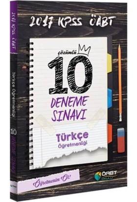Öabt Okulu Yayınları Öabt 2017 Türkçe Öğretmenliği Çözümlü 10 Deneme Sınavı