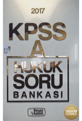 Beyaz Kalem Yayıncılık Kpss 2017 A Grubu Hukuk Soru Bankası