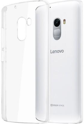 Microcase Lenovo K4 Note A7010 Ultra İnce Silikon Kılıf+Tempered Cam