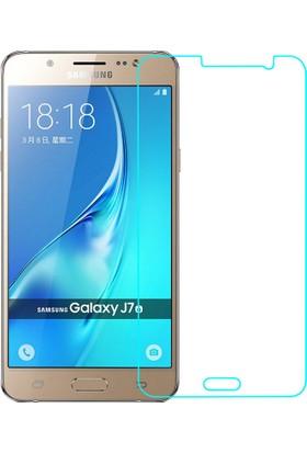 Microcase Samsung Galaxy J7 2016 J710 Tempered Glas Cam Ekran Koruma