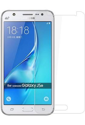 Microcase Samsung Galaxy J5 2016 J510 Tempered Glas Cam Ekran Koruma