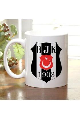 Adell Foto Beşiktaş Taraftar Beyaz Kupa Bardak