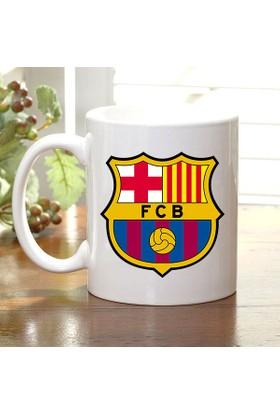Adell Foto FC Barcelona Taraftar Beyaz Kupa Bardak