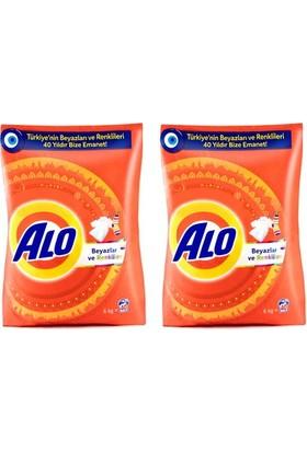 Alo Toz Çamaşır Deterjanı Beyazlar ve Renkliler İçin 6+6 Kg