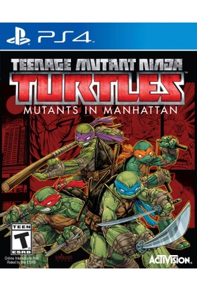 Teenage Mutant Ninja Turtles Ps4 Oyun