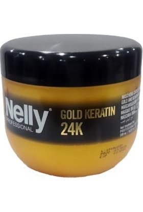 Nelly Gold Keratin 24K Maske 500 Ml