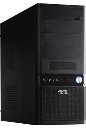 Vento 450W Tak61 Mid Tower Pc Kasası Siyah