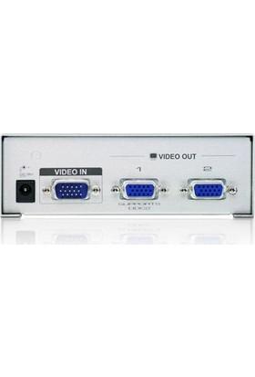 Aten 2Port Vs92A-A7-G 2X 15Pin Dsub 1920X1440 350Mhz Vga,Video Splitter 65Metre Mesafeye Kadar
