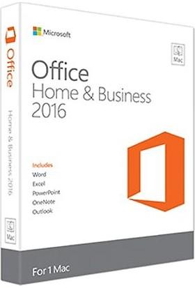 Mıcrosoft Office 2016 Ev Ve İş Eng Kutu Mac W6F-00862