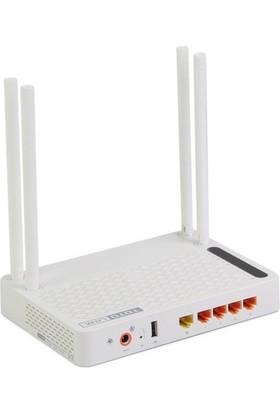 Totolınk 867Mbps 2.4Ghz/5Ghz A2004Ns 4Port Gigabit Repeater Bridge Access Point Dualband Router 8Dbi Sabit Anten Ppoe Vp