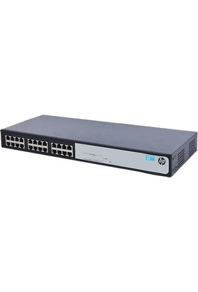 Hpe 24Port 1420 24G Jg708B Gigabit Yönetilemez Switch Rackmount
