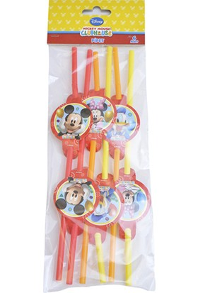 Partibahcesi Mickey Mouse Playful Pipet 6'Lı