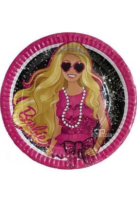Partibahcesi Barbie Klasik Tabak 8'Li 23 Cm.