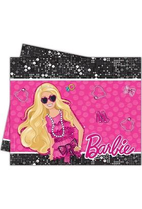 Partibahcesi Barbie Klasik Klasik Masa Örtüsü 120X180 Cm