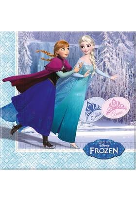 Partibahcesi Frozen Ice Skating Kağıt Peçete 20'Li 33X33Cm