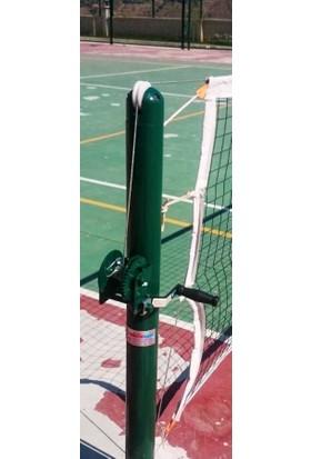 adelinspor Tenis Direği Gerdirme Mekanizması, Kilitli, İthal